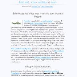Éclaircissez vos idées avec Freemind sous Ubuntu Dapper - Biologeek : Ubuntu, bio-informatique et geekeries libres d'un bio-informaticien au quotidien.