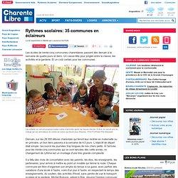 Rythmes scolaires: 35 communes en éclaireurs
