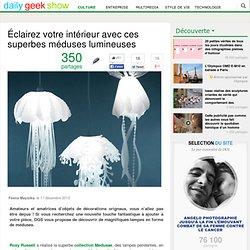 Éclairez votre intérieur avec ces superbes méduses lumineuses