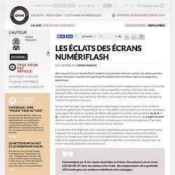 Les éclats des écrans Numériflash » Article » OWNI, Digital Journalism