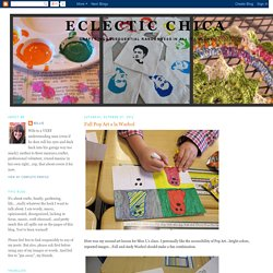 Eclectic Chica: October 2012