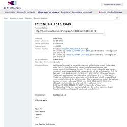 ECLI:NL:HR:2016:1049, Hoge Raad, 14/06007