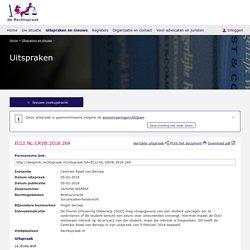 ECLI:NL:CRVB:2018:269, Centrale Raad van Beroep, 16/6346 WSFBSF