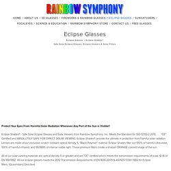 Eclipse Glasses — Rainbow Symphony, Inc.