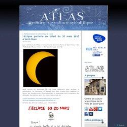 Eclipse partielle de Soleil du 20 mars 2015 à Saint-Ouen