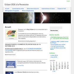 Blog Eclipse 2016 Réunion / IEN La Possession