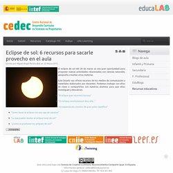 Eclipse de sol: 6 recursos para sacarle provecho en el aula