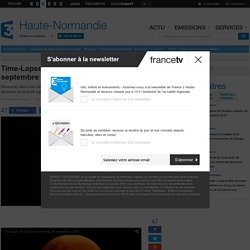 Time-Lapse de l'éclipse lunaire du 28 septembre 2015 - France 3 Haute-Normandie