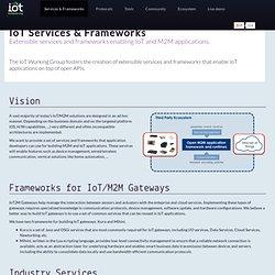 m2m.eclipse.org — Frameworks