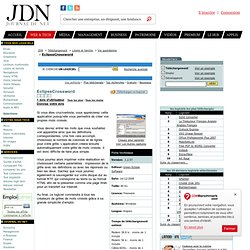 EclipseCrossword : télécharger EclipseCrossword sur JDN Téléchargement. Telecharger EclipseCrossword.