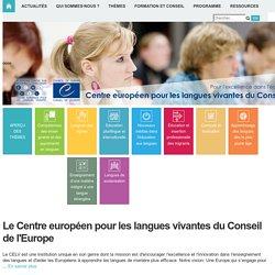 CELV - Centre européen pour les langues vivantes