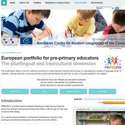 ECML-Programme > Programme 2012-2015 > Pepelino