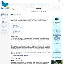 Éco-citoyen