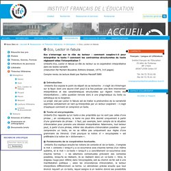 Eco, Lector in fabula