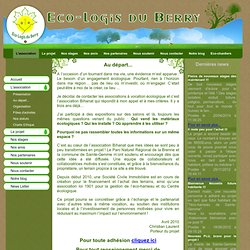 Eco-logis du Berry