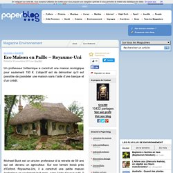 Eco Maison en Paille pour 150€