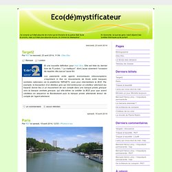 Eco(dé)mystificateur