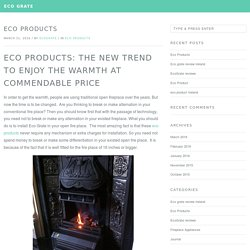 Eco Products — Eco Grate
