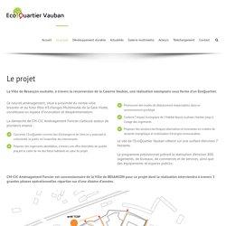 Eco-quartier Vauban – Descriptif