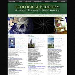 Ecological Buddhism