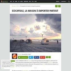 Ecocapsule, la maison à emporter partout