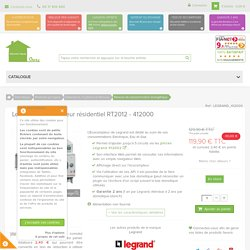 Legrand - Ecocompteur résidentiel RT2012 - 412000 - www.domotique-store.fr