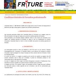 Friture - Education à l'environnement - Formation ecoconstruction - Toulouse - Insertion - Construction écologique - Alternatives Midi-Pyrénées - Conditions Générales de Formation professionnelle