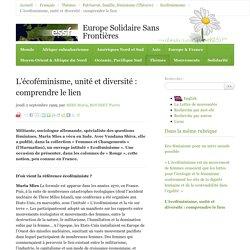 Maria Mies (1999) - L'écoféminisme, unité et diversité : comprendre le lien