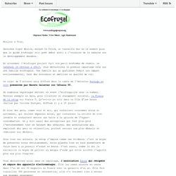 Ecofrugal Project - Bientôt la famille écofrugale à la télé!