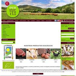 ECOGARROTXA, carne ecológica a domicilio