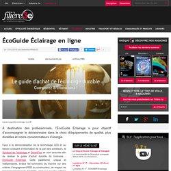 ÉcoGuide Éclairage en ligne - 13/12/16