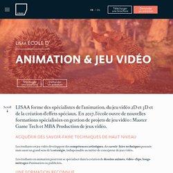Ecole d'animation et école de jeu vidéo à Paris
