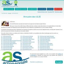 ULIS-école/ULIS : Annuaire des ULIS et ULIS-écoles en France