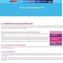 Ecole communication