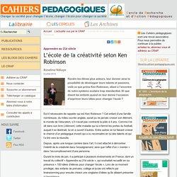 L'école de la créativité selon Ken Robinson