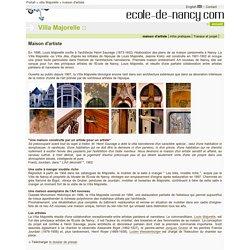 Ecole de Nancy - Maison d'artiste
