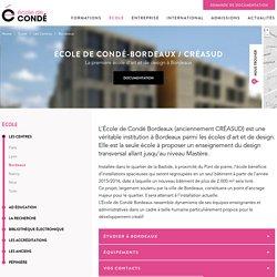 École d'art et design Bordeaux - MANAA, BTS, Mastère