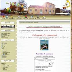 Ecole de Drefféac - CE1-CE2 - Etude de la langue