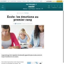 École: les émotions au premier rang