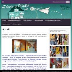 Ecole de l'hôpital de Nantes – Un site utilisant Sites Plate-forme de blogs