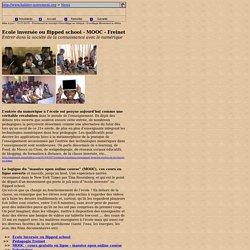Ecole inversée ou flipped school - MOOC