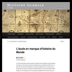 L'école en manque d'histoire du Monde