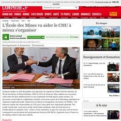 L'École des Mines va aider le CHU à mieux s'organiser - 28/01/2016 - ladepeche.fr
