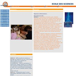 Ecole des Sciences