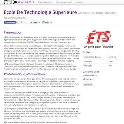 Ecole De Technologie Superieure