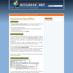 Dyslexie et OpenOffice