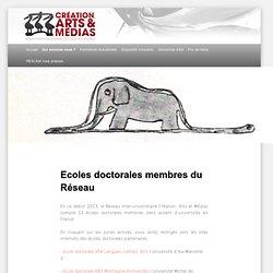 Ecoles doctorales membres du Réseau