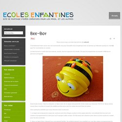 ecoles enfantines - Bee-Bot