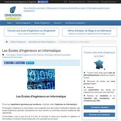 Les Écoles d'Ingénieurs en Informatique