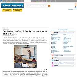 Des écoliers du futur à Seclin: on «twitte» en CE 1à l'Immac! - Actualité Seclin